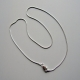 Delicate Sterling Silver 16 inch Snake Chain for Pendants