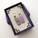 Glimmering Rainbows Handmade Dichroic Glass Dangle Earrings