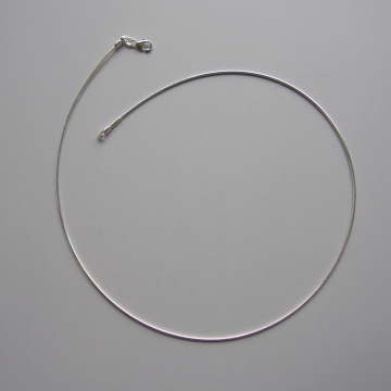 Removeable End Sterling Silver Necklace Made in Germany