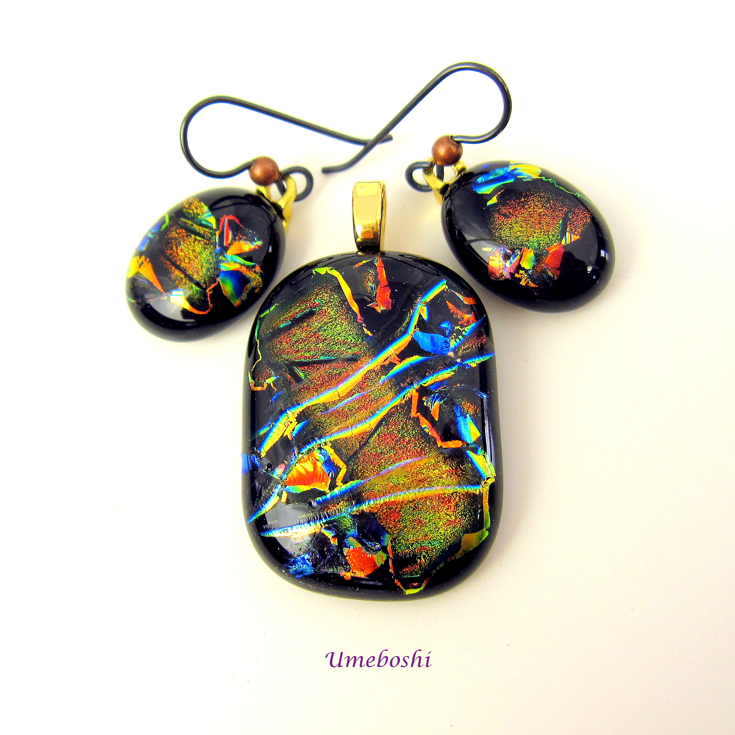 Dichroic Fused Glass