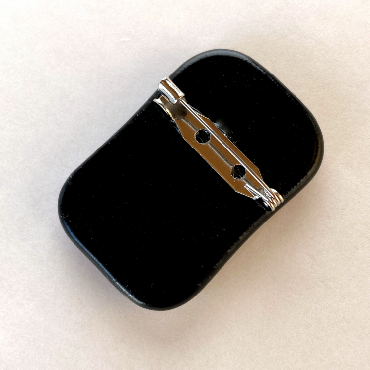 View of Pin Clasp