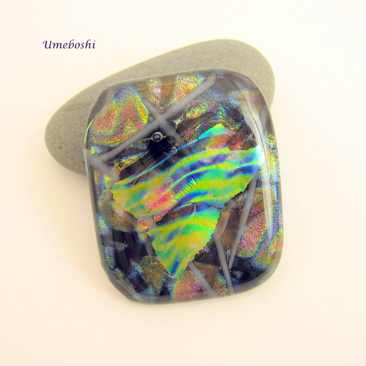 One-of-a-kind Dichroic Glass Jewelry