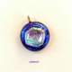 Color Conjunction Handmade Fused Dichroic Glass Jewelry Pendant