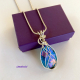 Wire Wrapped Pendant by Umeboshi Jewelry Designs