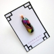 Le Jardin Handmade Dichroic Glass Multicolored Pendant