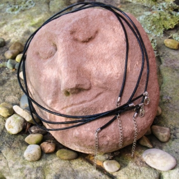 16 inch Leather Necklace for Wearing With Pendants